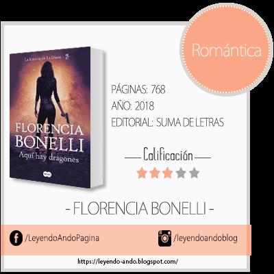 Aquí Hay Dragones Florencia Bonelli Leyendo Ando