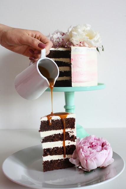 here comes the betch, svatební dort, nahý dort, naked cake, wedding cake, wedding cake 2017, svatební dort 2017, cat and cook blog