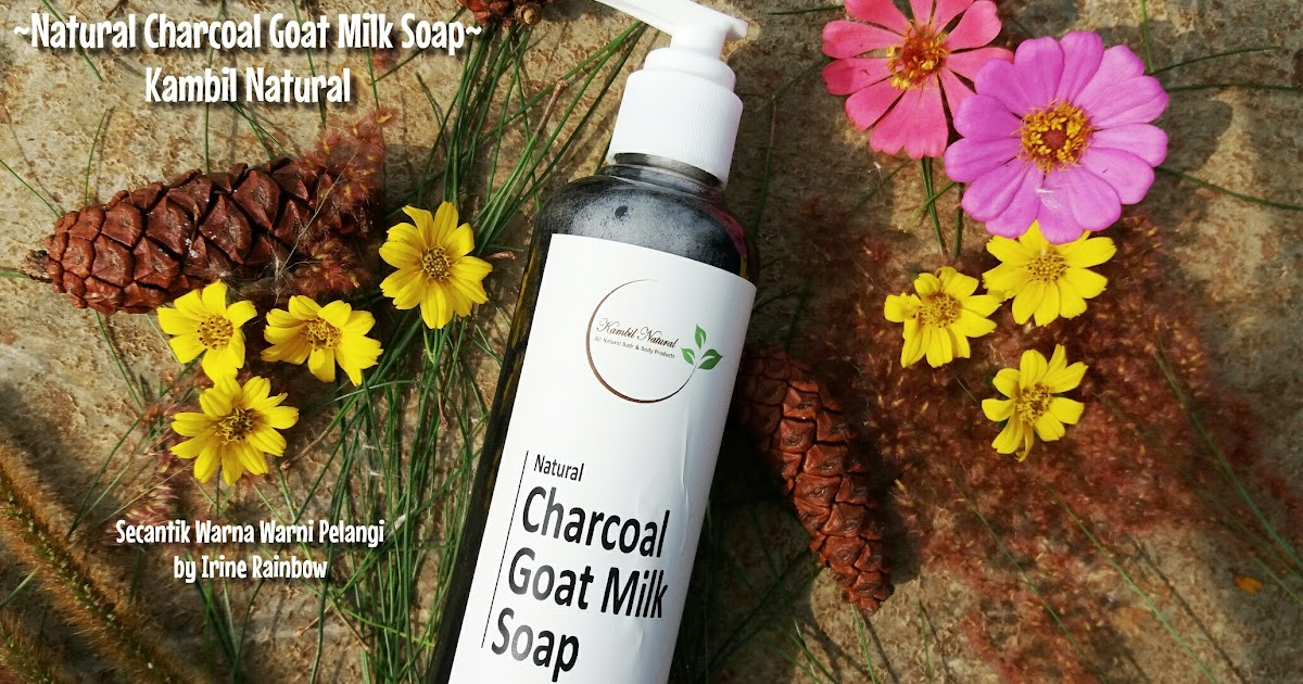 {Review} Natural Charcoal Goat Milk Soap Kambil Natural