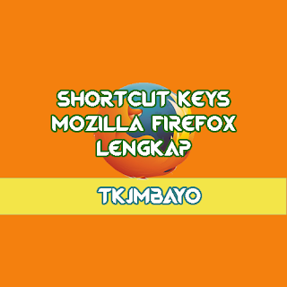 30+ Shortcut Keys Mozilla Firefox Bahasa Indonesia