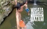 Jalan Menuju Wisata Air Pancur Telaga Bidadari Batam - Explore Batam