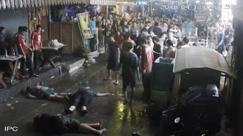 British family  beaten unconscious in Thailand after couple's son bumped into local thug