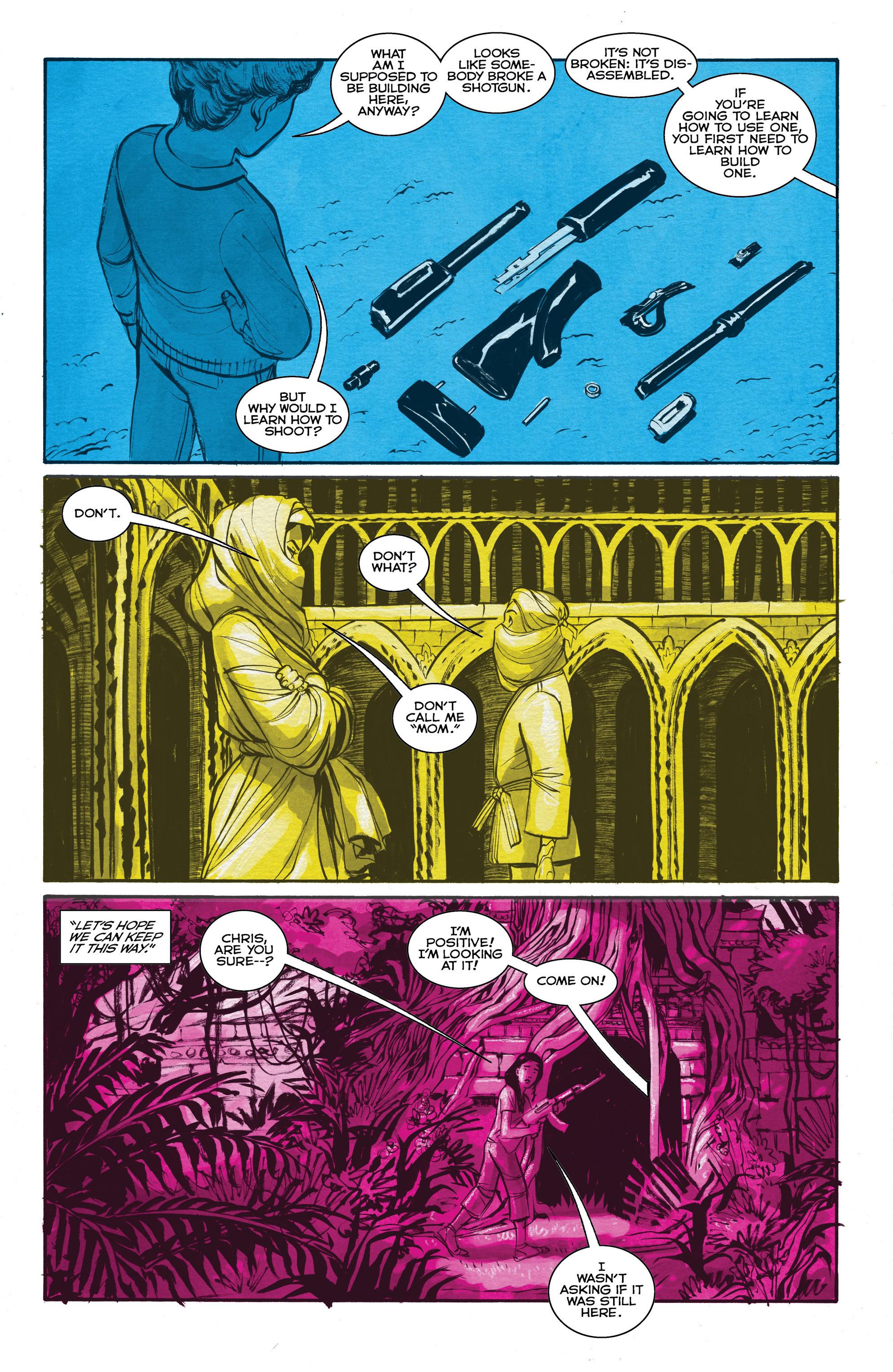 Read online Shutter comic -  Issue #19 - 14
