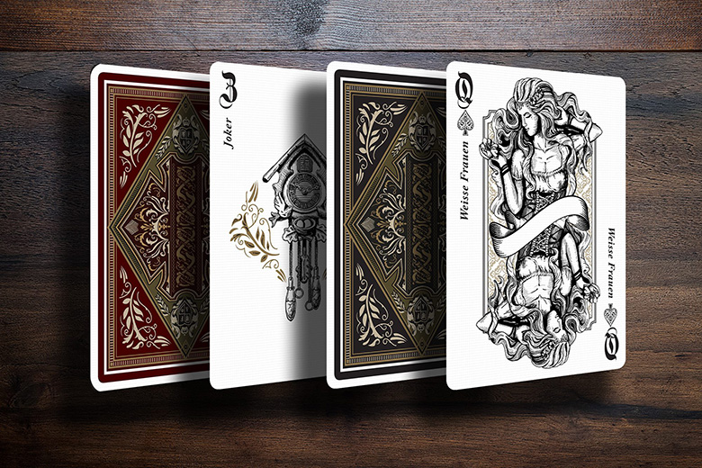 First Look Marchen Playing Cards By Forge Arts