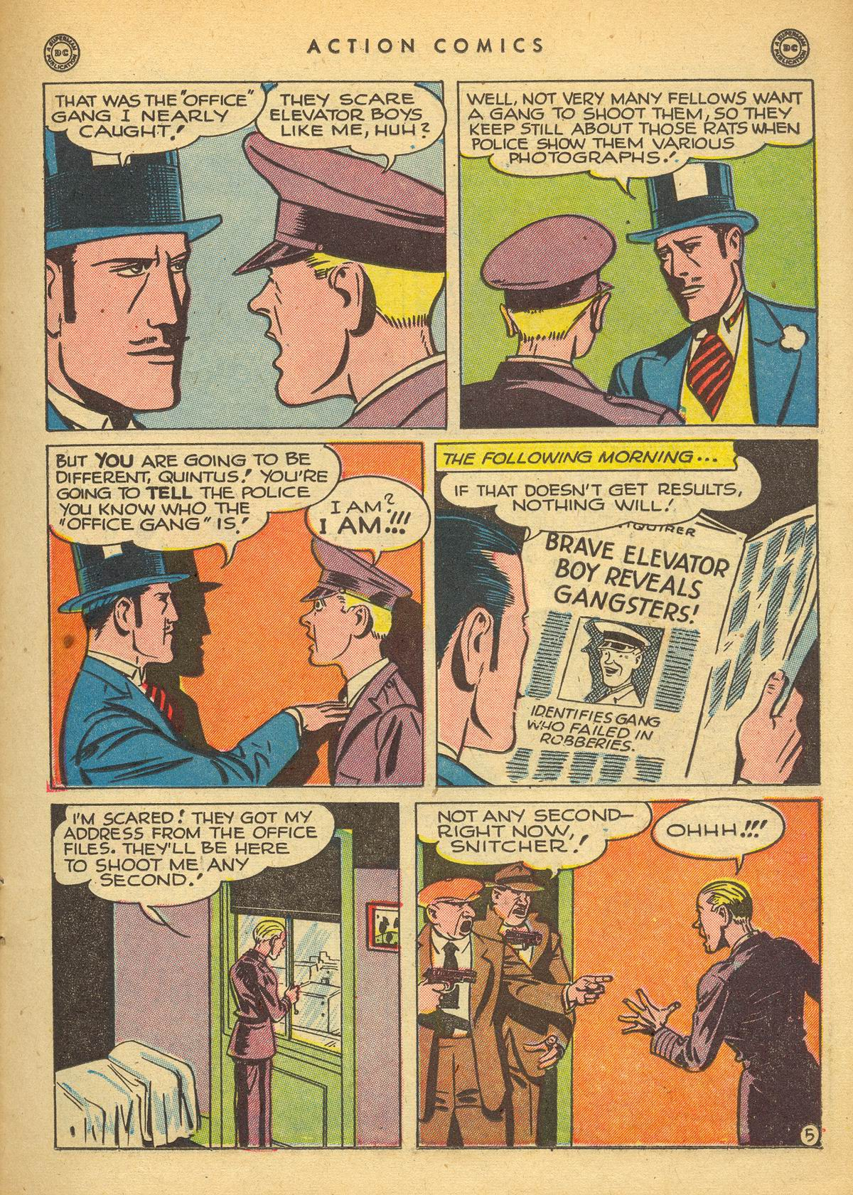 Read online Action Comics (1938) comic -  Issue #109 - 21