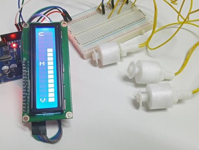 Sensor de nível de agua com Arduino
