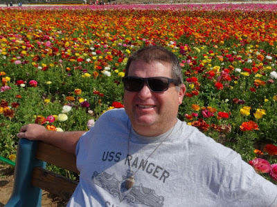 The Flower Fields in Carlsbad by Stacey Kuhns