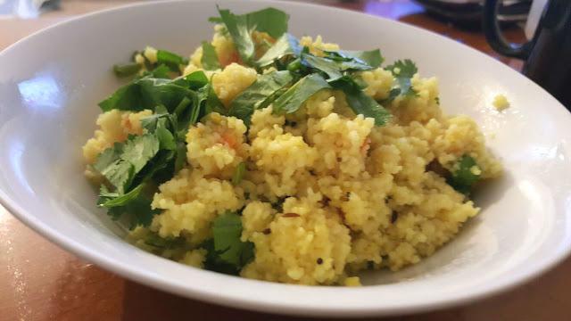 Lemony couscous