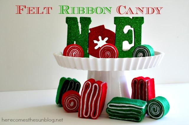 felt ribbon candy