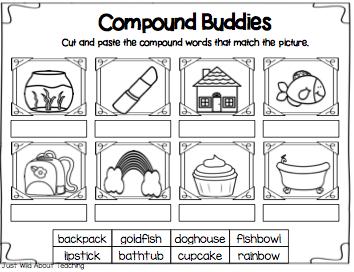 Easy compound words worksheets kindergarten proga info easy compound words worksheets kindergarten ibookread Download