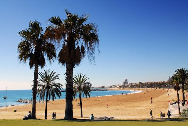 Barcelona em junho