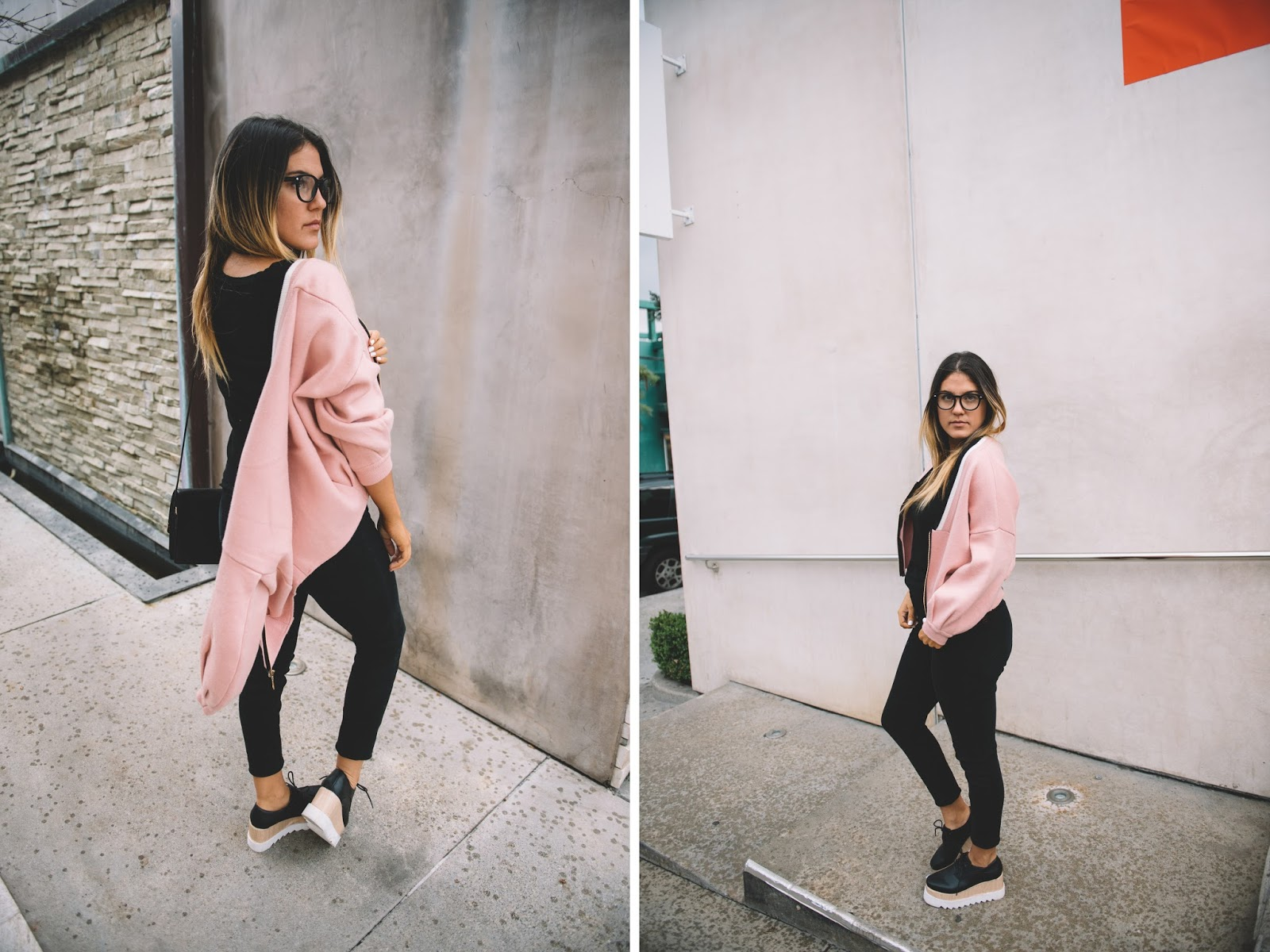 Stylewe Pink Jacket -- My Cup of Chic @taylorwinkelmeyer