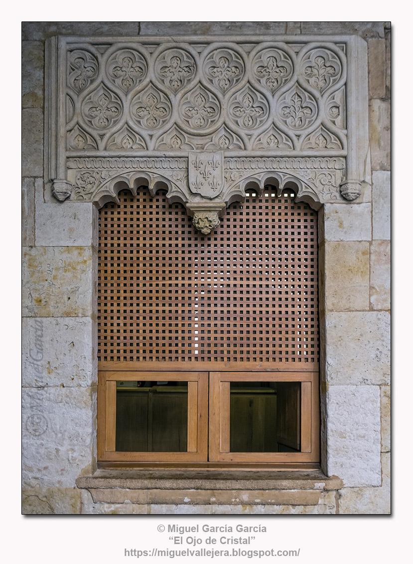 Ventana. Casa de las Conchas (Salamanca)