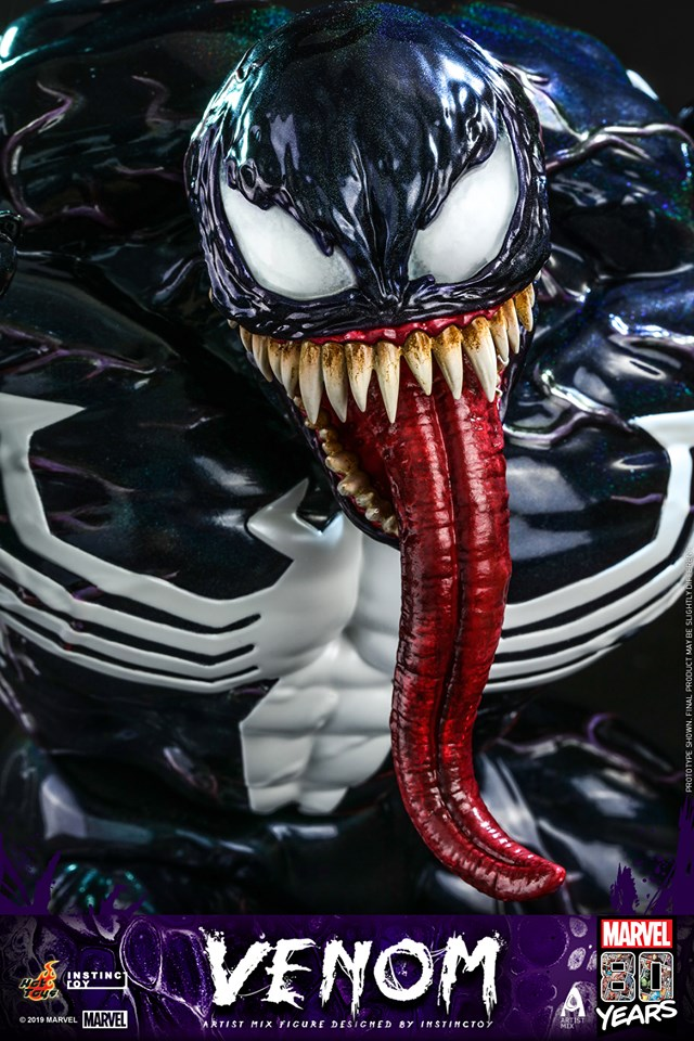 Pleasing Hot Toys Venom Artist Mix Figure By Hiroto Ohkubo Of Instinctoy Download Free Architecture Designs Scobabritishbridgeorg