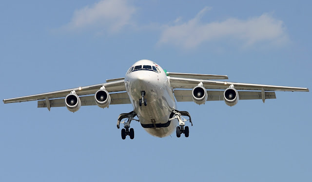 British Aerospace BAe 146-300 Landing Gear Retracted