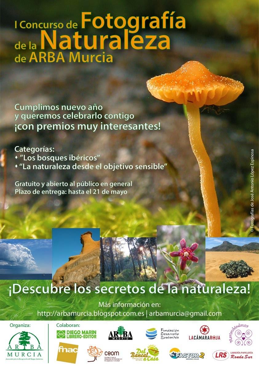 """cartel ARBA A3 facebook - Concurso de Fotografía """"Descubre los secretos de la Naturaleza"""""""