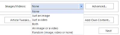 6 tuỳ chọn cho hình ảnh hoặc video