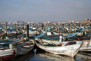 Nouadhibou, Mauritania. Foto: Bertramz, CC by-sa, via Wikimedia 3.0