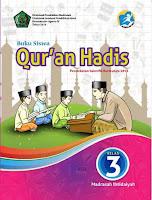 Buku K13 PAI MI 3 Quran Hadis