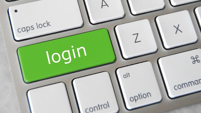 keyboard keren dengan tombol login berwarna hijau
