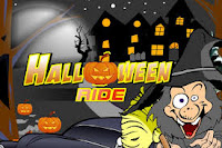 Who's up for a little #Halloween racing! #HalloweenGames #WitchGames