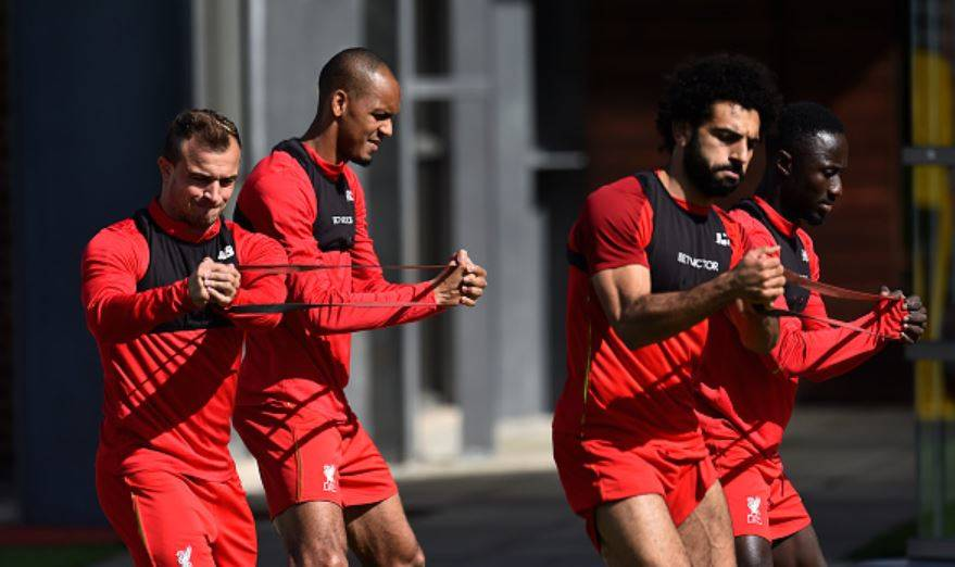 Fabinho-Keita-Shaqiri-and-Salah-in-training