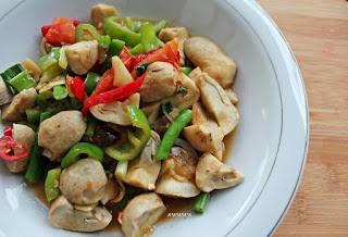 cara memasak jamur