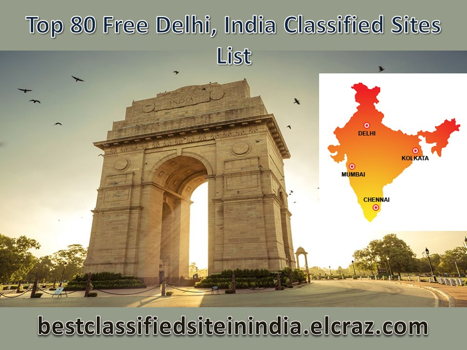 Top 30 Free Delhi Classified Sites List 2019 | Instant