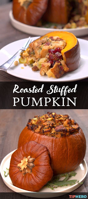 Roasted Stuffed Pumpkin