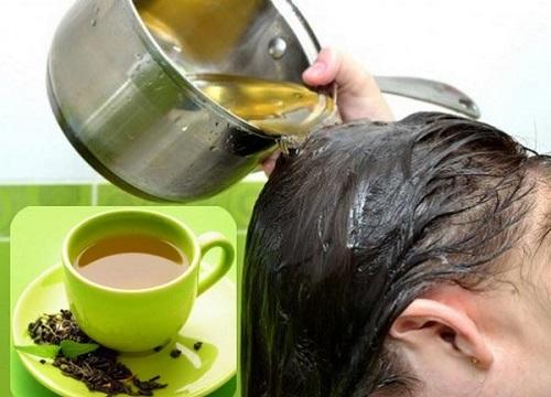 Mịn da, bóng tóc chỉ với 1 cốc trà xanh