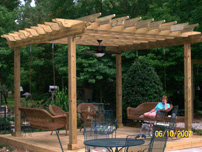 The Pergola What Is Point Of This Ridiculous Object Lumberjacks Build When They Get Bored With Leftover Wood