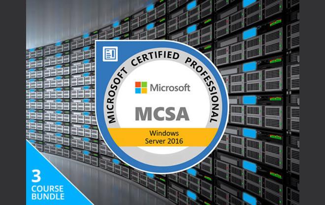 Lifetime MCSA Windows Server 2016 Bundle Discount coupon