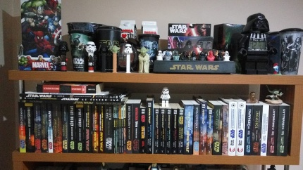 Vendégh Roland Star Wars könyvespolc