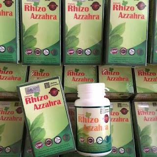 Rhizoplus Azzahra Penawar Gout, Migrain & Resdung Paling Mujarab