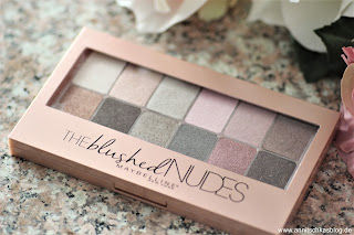 Review: Maybelline The blushed NUDES - www.annitschkasblog.de