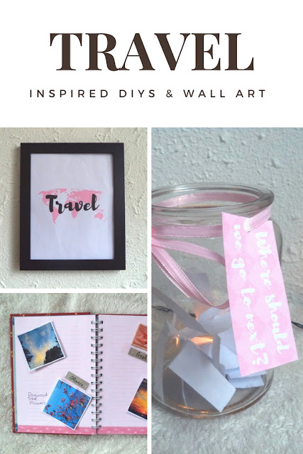 Wanderlust/Travel Inspired DIYs & Wall Art