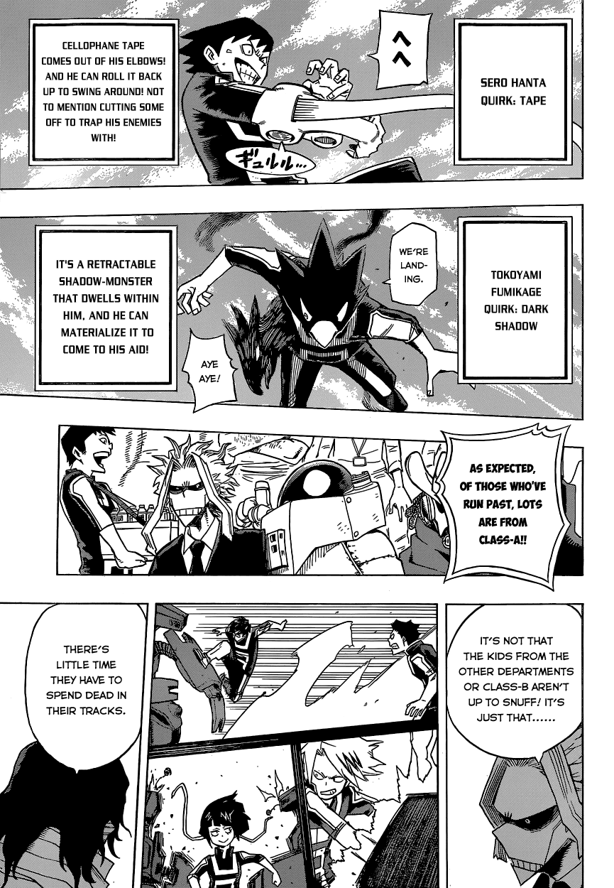 Boku no Hero Academia Chapter 25: Wow, Everyone's Quirks Are
