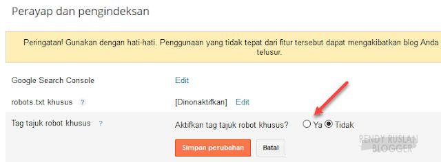 ~ Aktifkan tag tajug robot