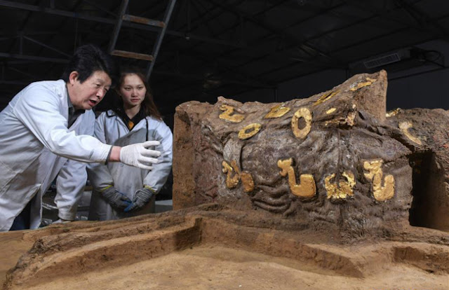 'Deluxe' carriage from 2,500 years ago unveiled in China