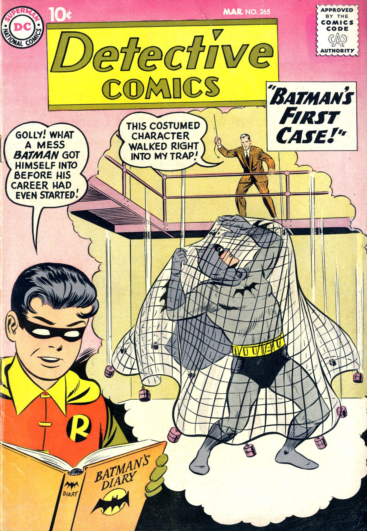 Detective Comics (1937) 265 Page 1