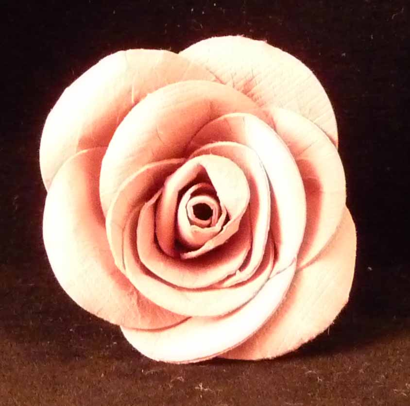 Paper Compulsions Roses Made From Circles