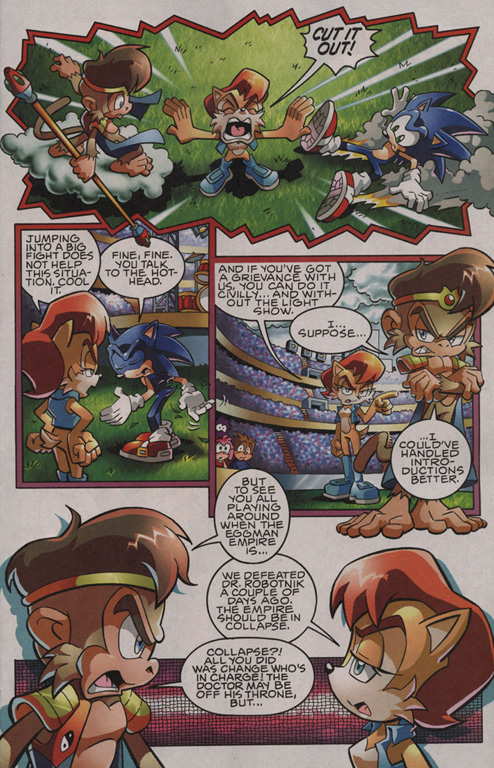 Read online Sonic The Hedgehog comic -  Issue #201 - 8