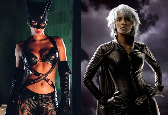 Kobieta Kot i Storm z X-Men