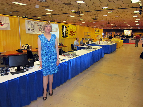 Stana at the Dayton Hamvention, May 2012