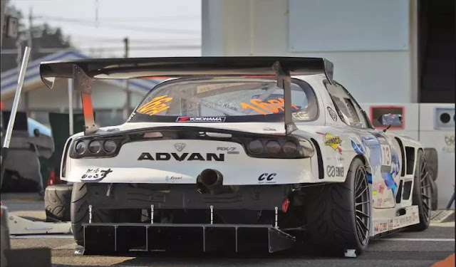 See How 591-HP Endless Advan FD3S RX-7 Lap Tsukuba In Just 55-Seconds Flat