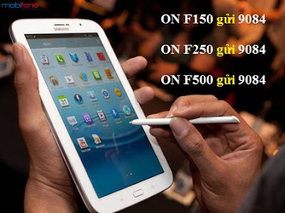 Tiết kiệm chi phí 3G Fast Connect với gói F150 F250 F500 Mobifone