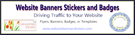 Website Banner Stickers