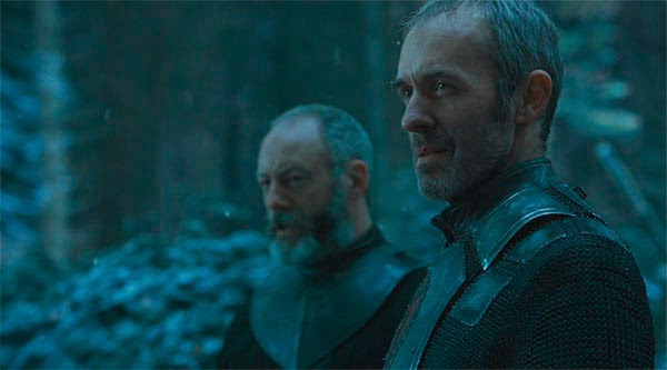 Davos y Stannis in Game of Thrones 4x10
