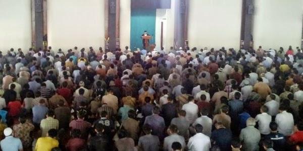 Contoh khutbah jum'at singkat tentang isra mi'raj