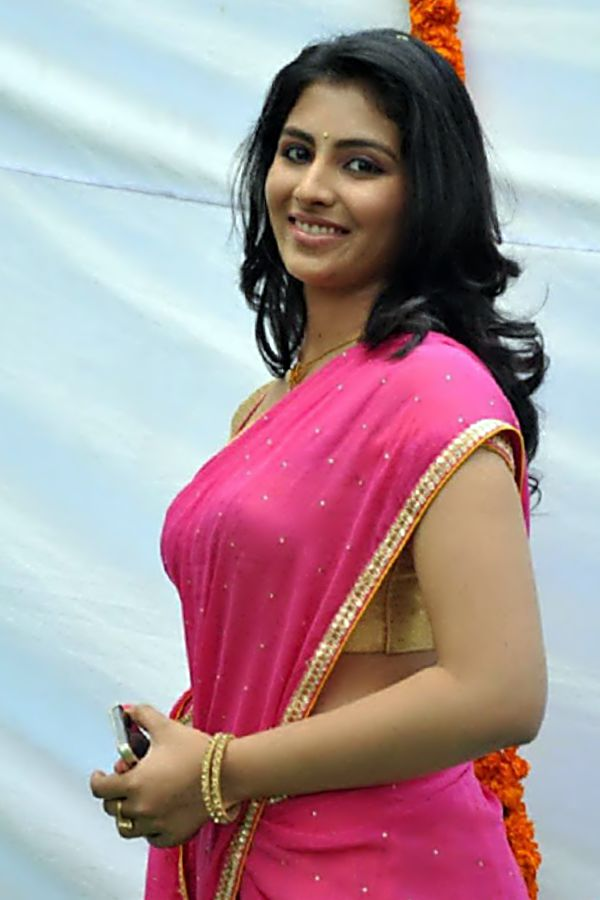 Kruthika Jayakumar Looking Hottish in Pink Saree